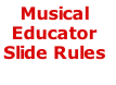 Musical  Educator Slide Rules